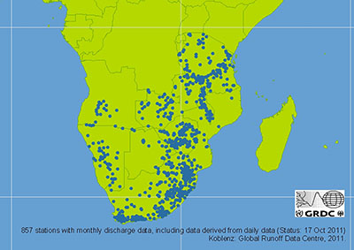 Southern Africa FRIEND Database - River Discharge Stations