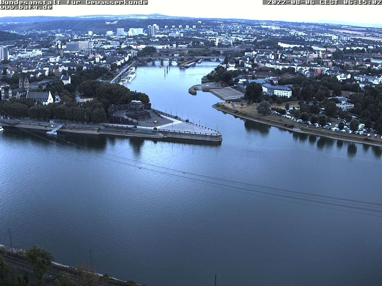 WEBCAM DEUTSCHES ECK KOBLENZ