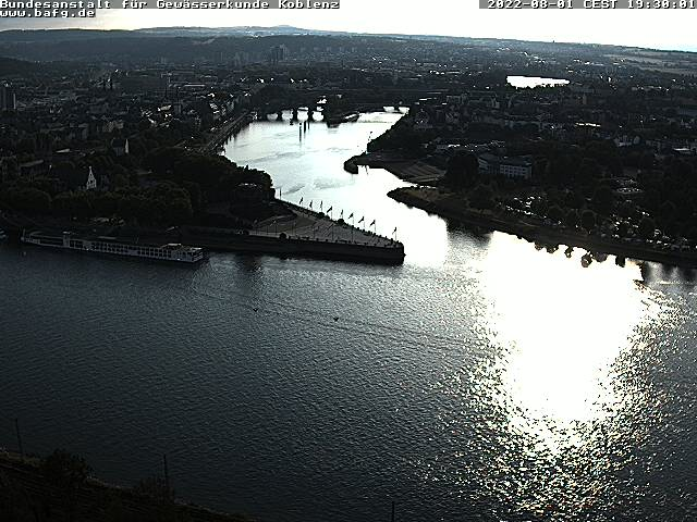 Webcam Koblenz - Deutsches Eck