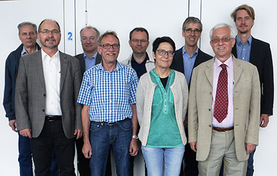 Participants of the meeting, 19 June 2015.
