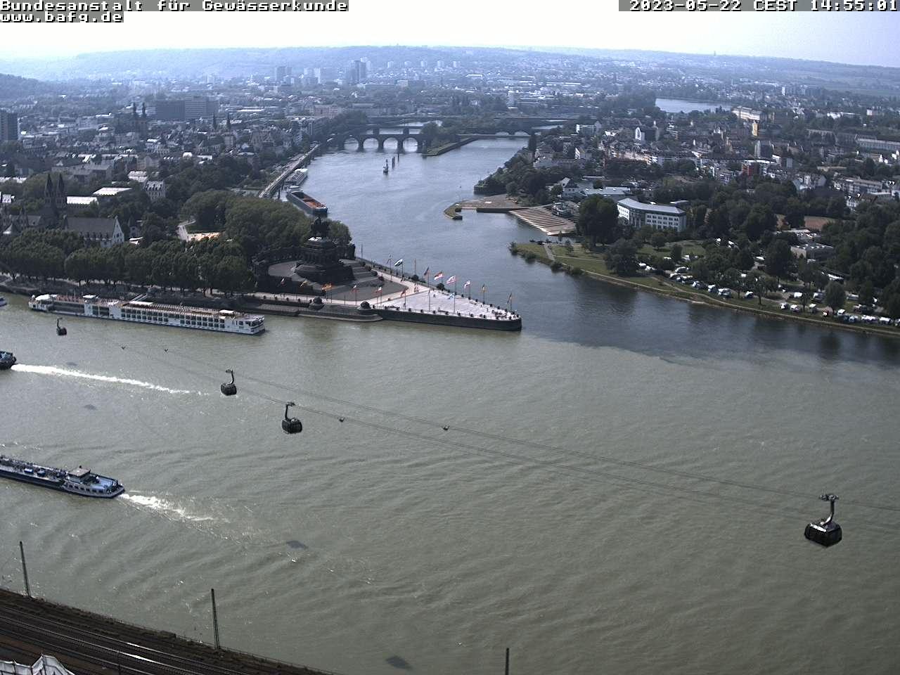 Koblenz Deutsches Eck / Deutschland